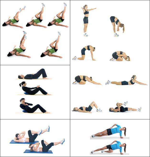 самые полезные упражнения для похудения