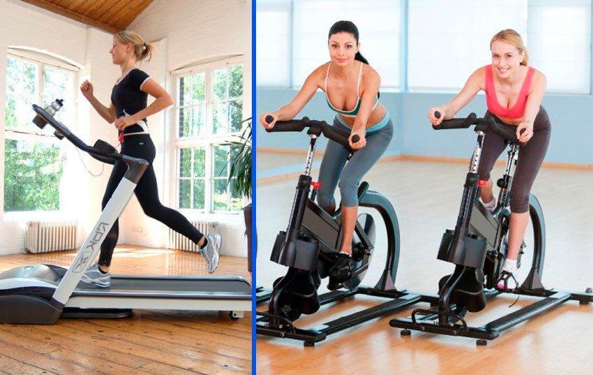 Велотренажер поможет похудеть