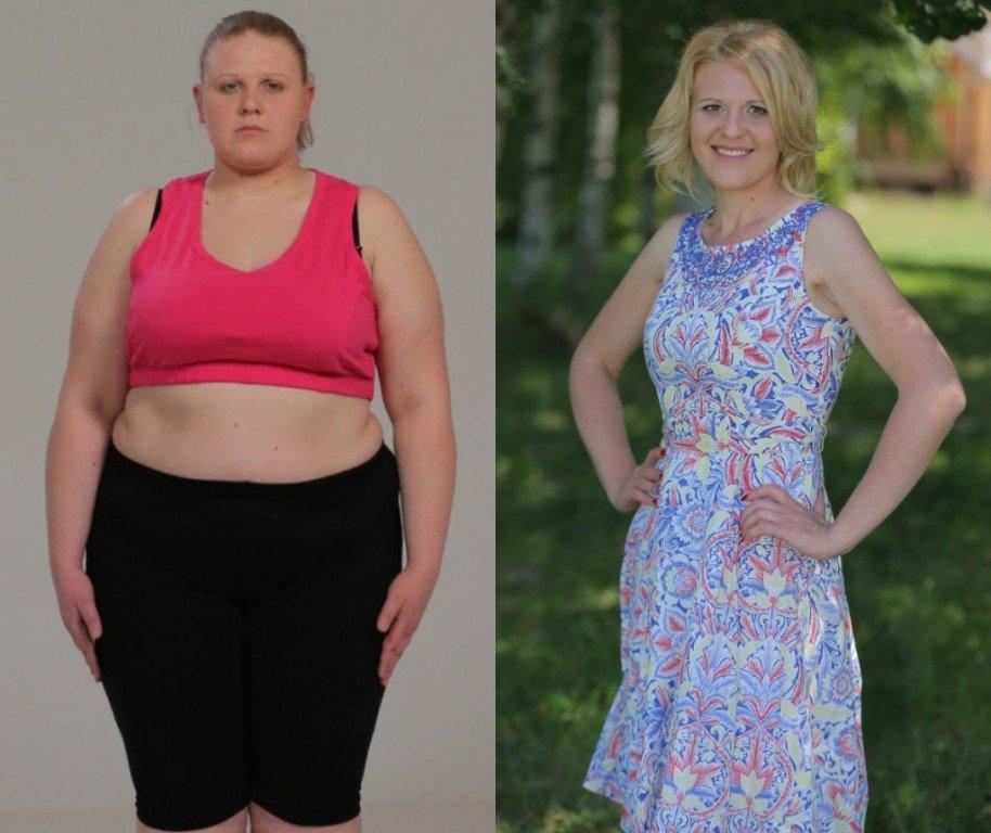 Реальные сильные похудения