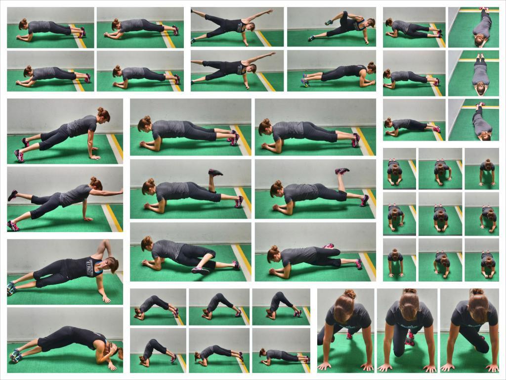 Упражнение Планка Для Похудения Живота Фото.