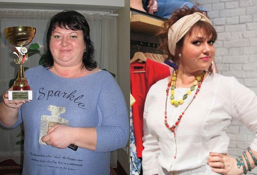 Толстая Из Квн Похудела. Как похудела Ольга Картункова: диета и фото до и после