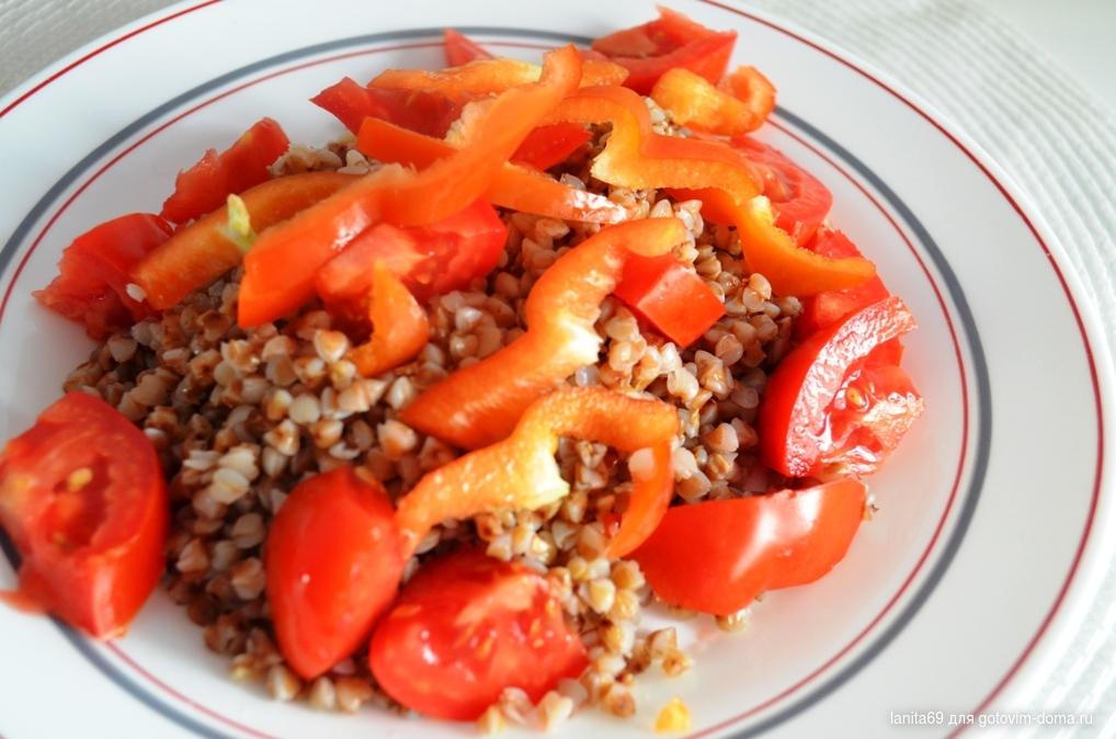 Томатно гречневая диета