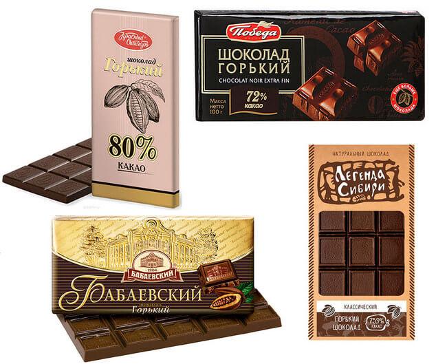 Какой шоколад лучше при диете