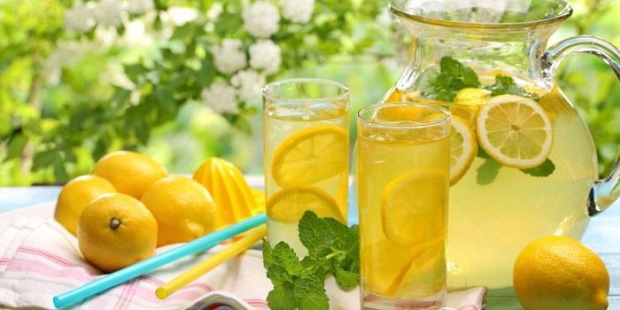 мята с лимоном для похудения отзывы
