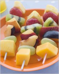 фрукты с ягодами