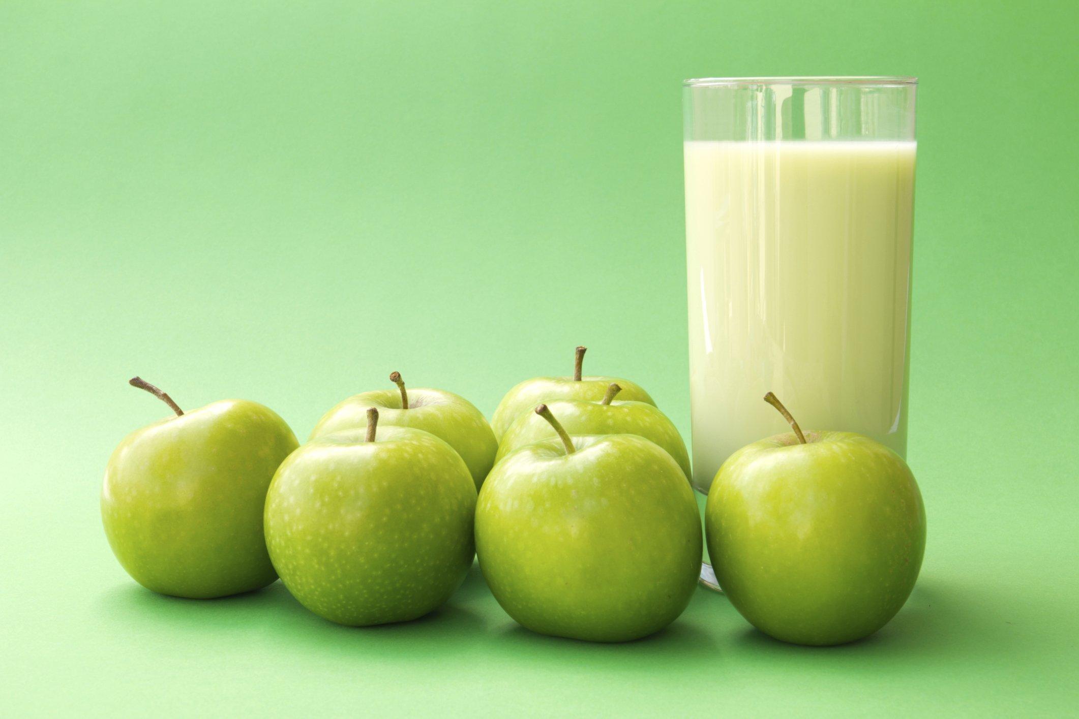 Яблочная можно диета