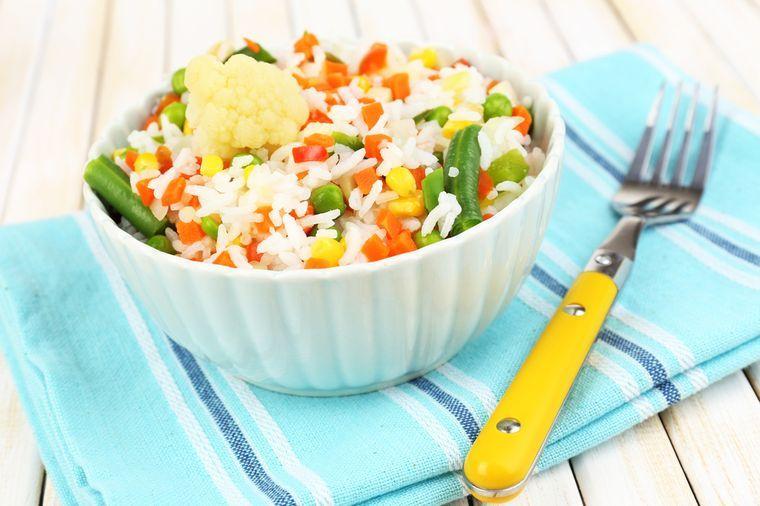 блюдо для рисовой диеты