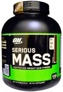Гейнер Optimum Nutrition Serious Mass шоколад 2720г