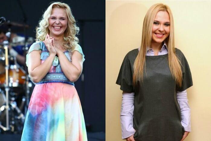 похудей до и после