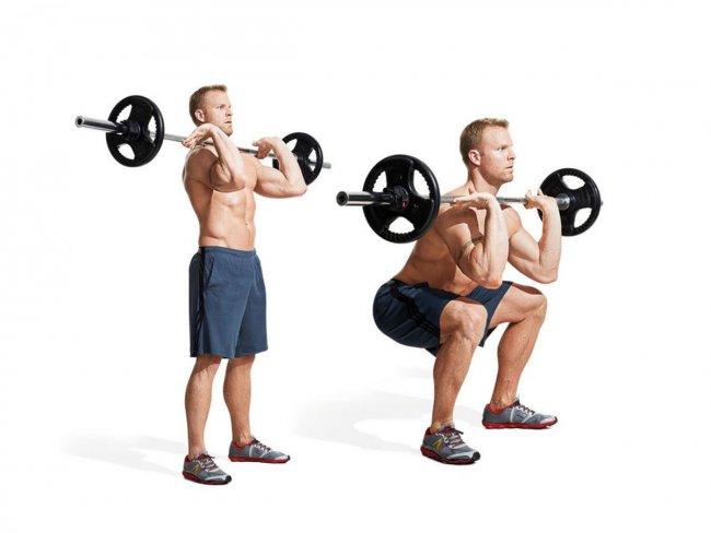 Тренировка ног для мужчин в тренажерном