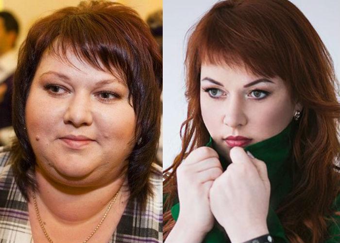 Ольга Картункова До И После Похудения.
