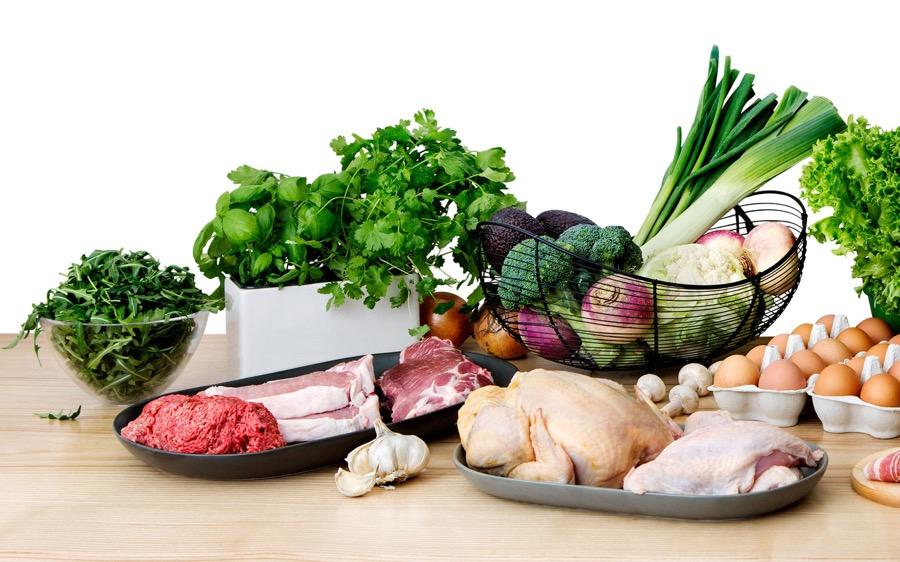 Низкоуглеводная диета порции