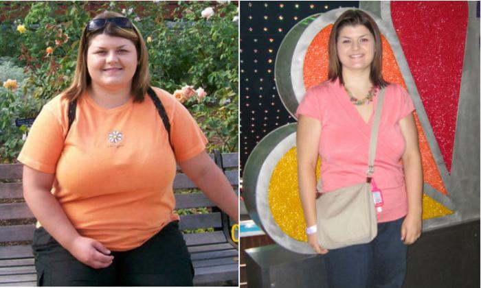 Истории похудения галя